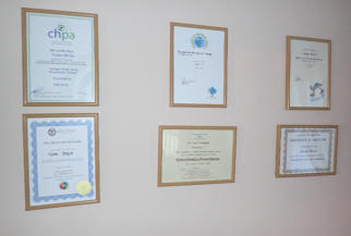 Image of some of Feel Good Hypnosis Certifications